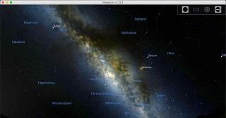 Create your own planetarium with Stellarium
