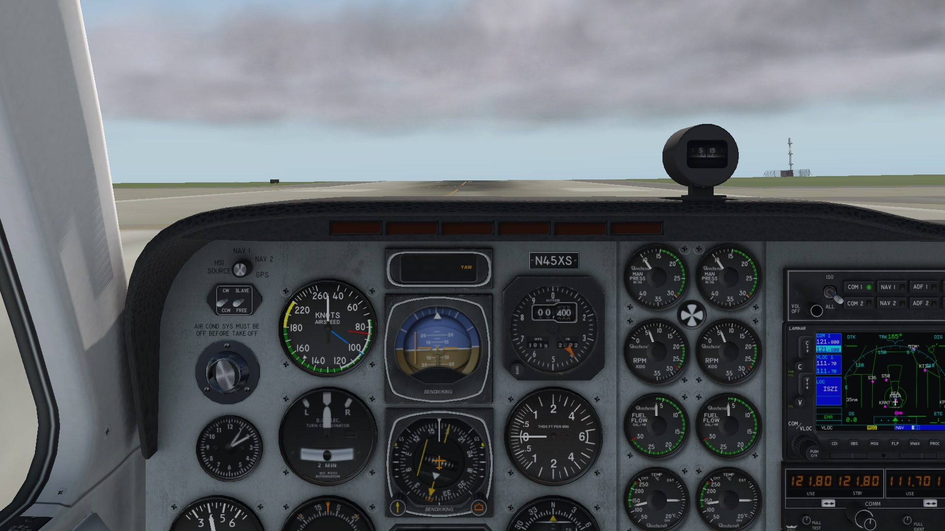 X-Plane 11 Multi View and 3D Cockpit | Fly Elise-ng
