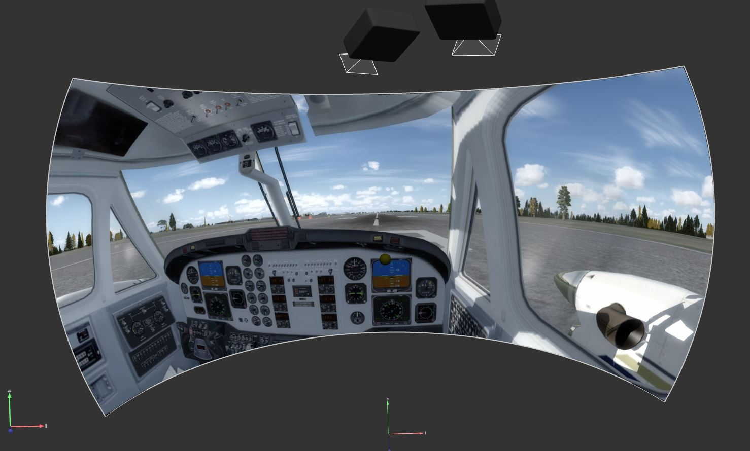 P3D Multiple Cameras with Immersive Calibration PRO | Fly