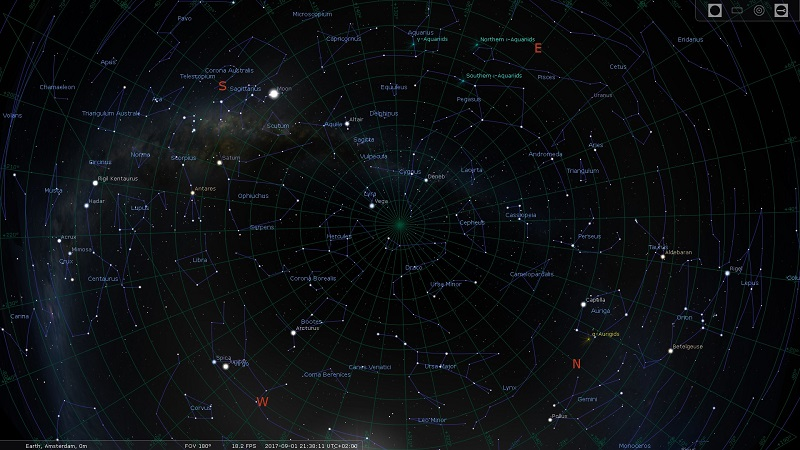 Create your own planetarium with Stellarium | Fly Elise-ng